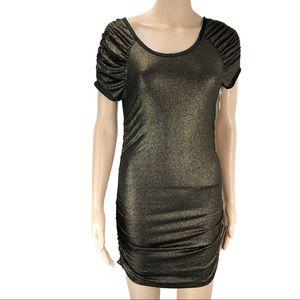 New Ann Taylor gold small dress (#27)